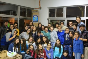 The youth group (ages 13-18) for San Pablo Lutheran Church
