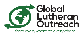 Global Lutheran Outreach - From everywhere to everywhere logo