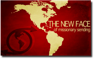 The new face of missionary sending graphic